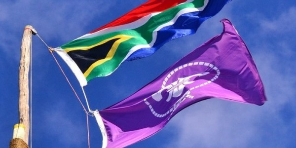 Scouts South Africa Flags